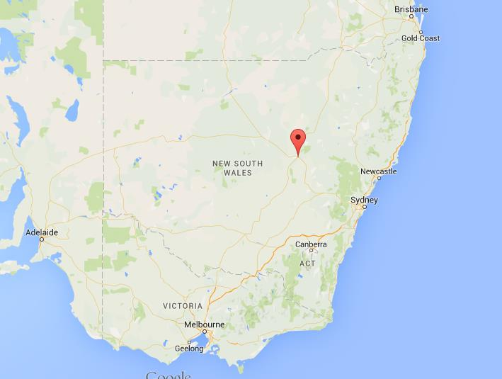Australia Map Dubbo.Where Is Dubbo On Map New South Wales