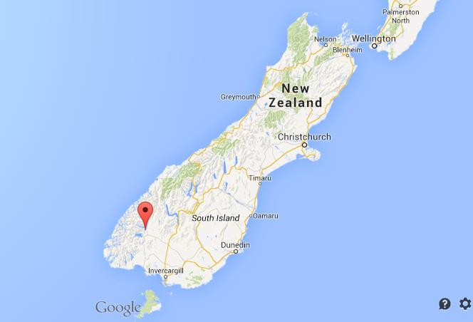 Where Is New Zealand In World Map.Where Is Fiordland National Park On Map Of New Zealand South Island