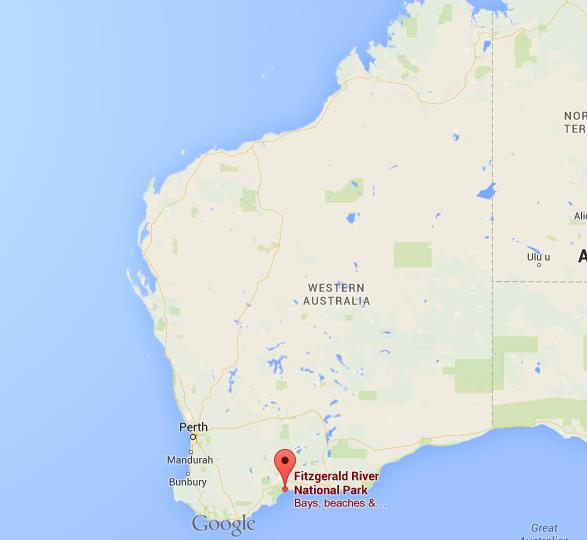 Where is fitzgerald river on map western australia world easy guides location fitzgerald river on map western australia gumiabroncs Images