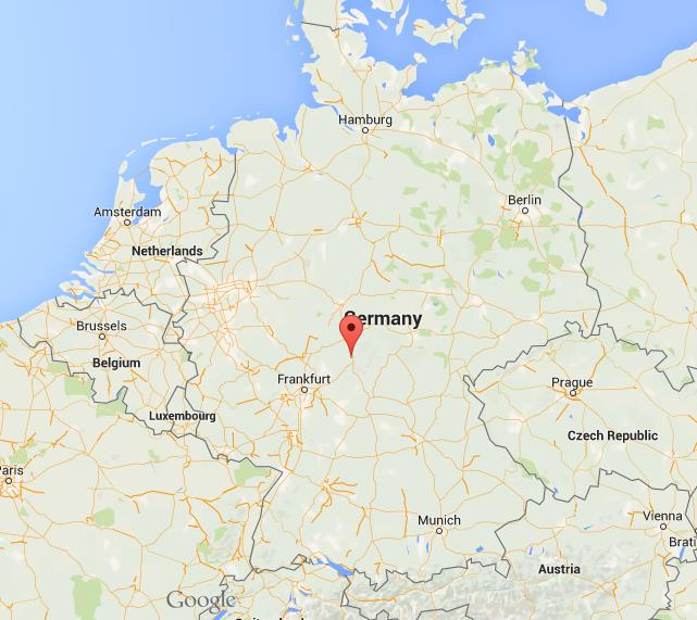 Where Is Fulda On Map Germany