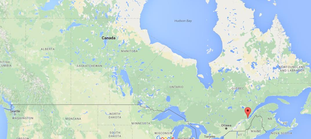 Orleans Canada Map Where is Ile d'Orleans on map Canada
