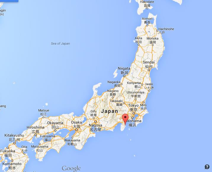 Where is Ito on map Japan World Easy Guides