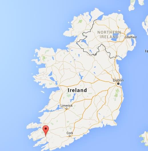 Map Of Ireland Kenmare.Where Is Kenmare On Map Ireland