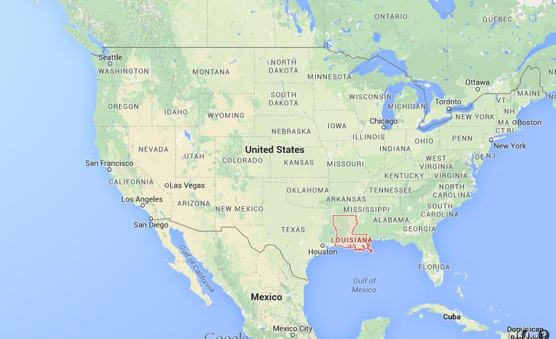 Where Is Louisiana On USA Map World Easy Guides - Louisiana on us map