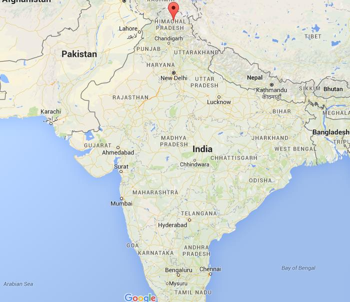 Where Is Manali On Map India