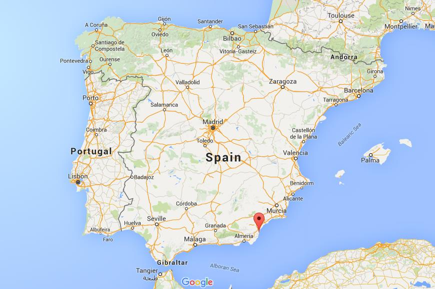 Where Is Mojacar On Map Spain World Easy Guides