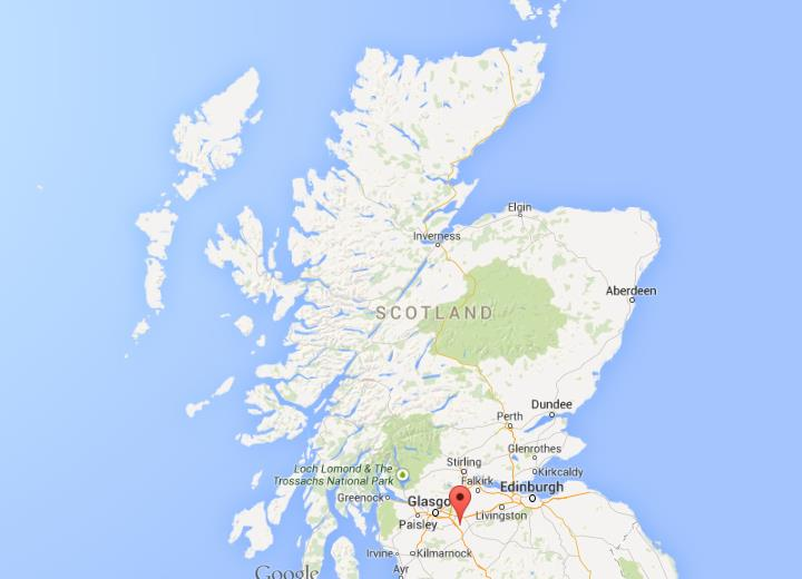 Where Is Motherwell On Map Of Scotland World Easy Guides - Where is scotland