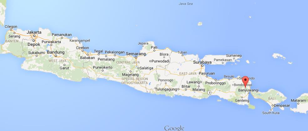 Where is mount merapi on map of java world easy guides location mount merapi on map of java gumiabroncs Choice Image