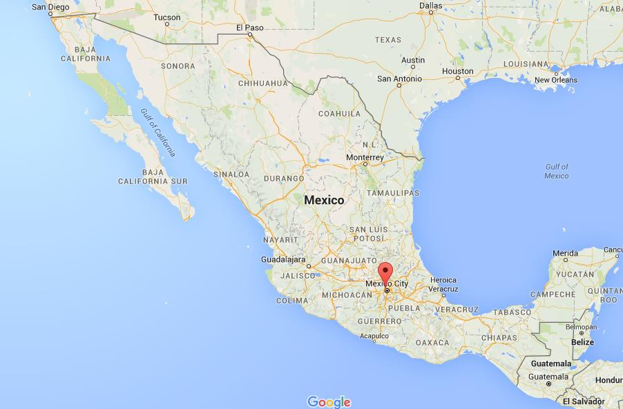 Where Is Naucalpan On Map Mexico World Easy Guides