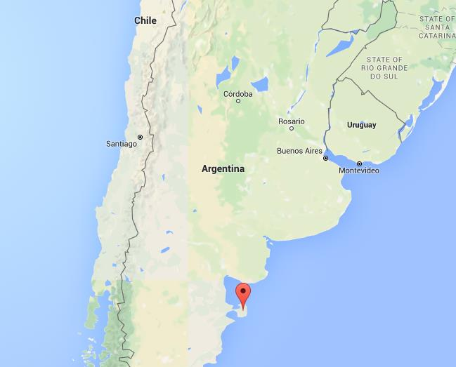 Where is Peninsula Valdes on map Argentina World Easy Guides