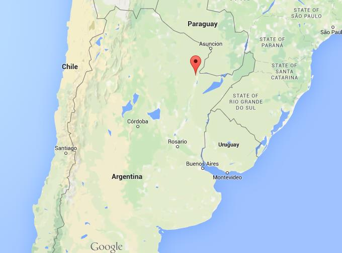 Where Is Resistencia On Map Argentina World Easy Guides - Argentina map location