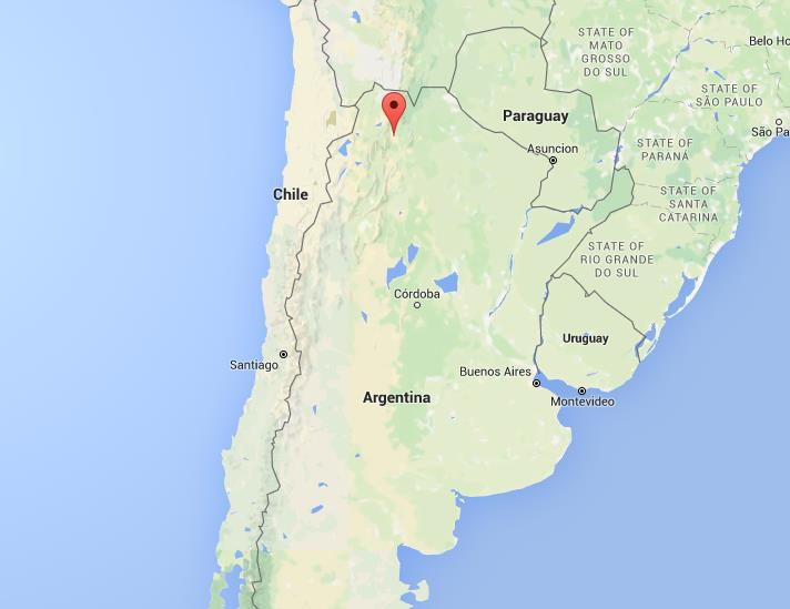 Where is San Salvador de Jujuy on map Argentina on uruguay map, nicaragua map, brazil map, buenos aires map, passo fundo map, taiohae map, santiago map, honduras map, lima map, peruana map, mexico map, caracas map, central america map, south america map, sert map, costa rica map, the landing map, kusti map, world map, bage map,