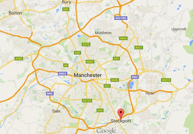 Where is Stockport on map Greater Manchester World Easy Guides