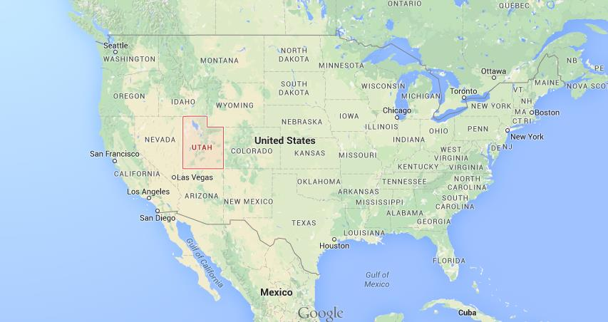 where is utah on usa map world easy guides
