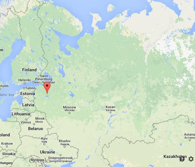 Where is Veliki Novgorod on map Russia | World Easy Guides