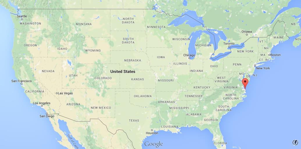 Where Is Virginia Beach On Usa Map