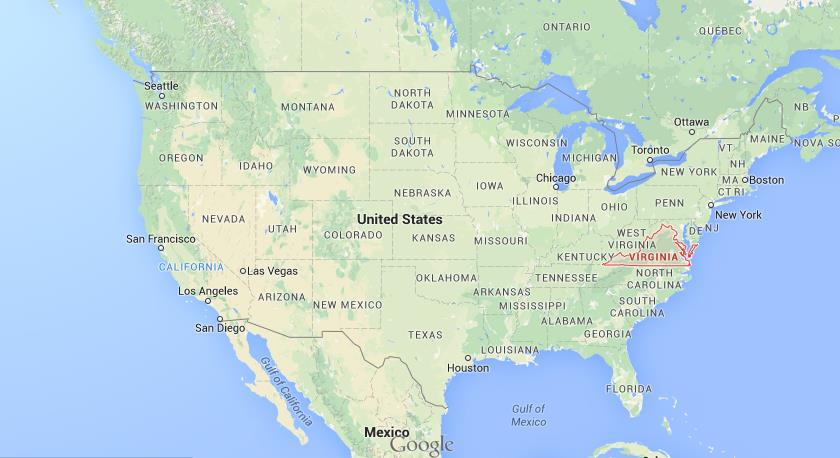 Where Is Virginia On USA Map World Easy Guides - Virginia usa map