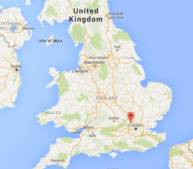 Where is Watford on map England