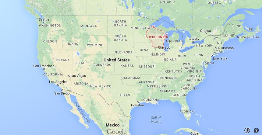 Where is Wisconsin on USA map World Easy Guides