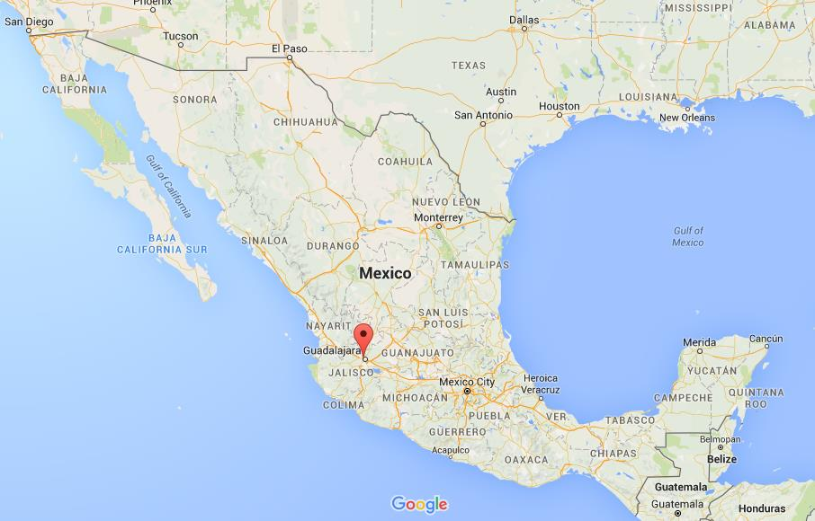 Where is Zapopan on map Mexico World Easy Guides