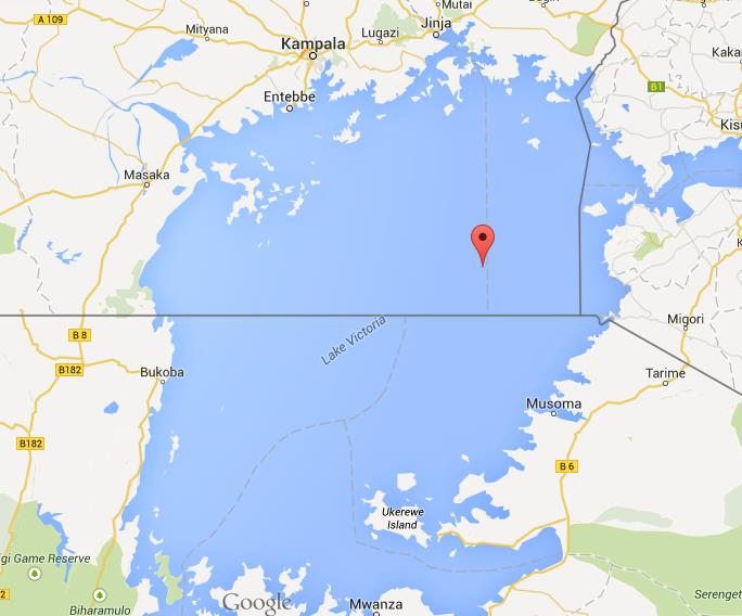 Lake Victoria On Map Of Africa.Map Of Lake Victoria