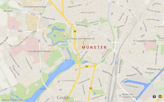 Munster Cultural City In Westphalia World Easy Guides - Germany map munster