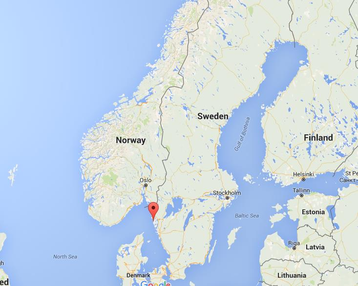 Where is Bohuslan Island on map Sweden World Easy Guides