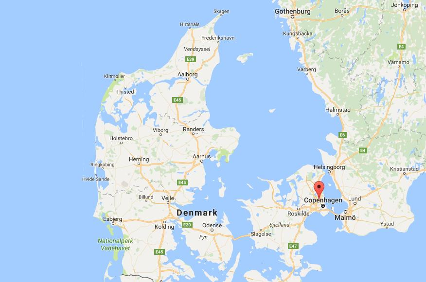 Where is Gladsaxe on map Denmark World Easy Guides