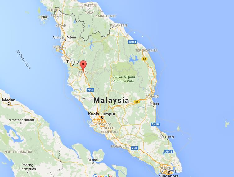 Where is Ipoh on map Malaysia World Easy Guides