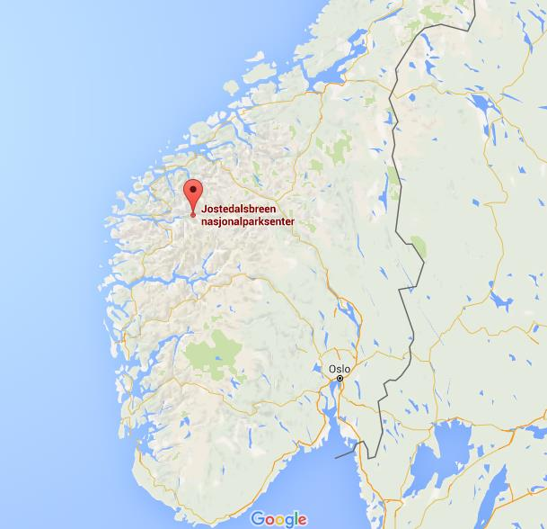 Where Is Jostedalsbreen Glacier Field On Map Norway World Easy - Norway glacier map