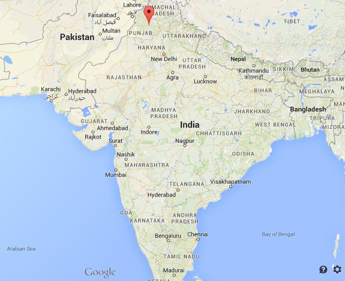 Where is Ludhiana on map India World Easy Guides