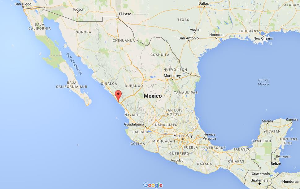 Where Is Mazatlan In Mexico Map.Where Is Mazatlan On Map Mexico