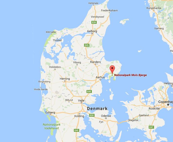 Where is mols bjerge national park on map denmark world easy guides where is mols bjerge national park on map denmark gumiabroncs Image collections