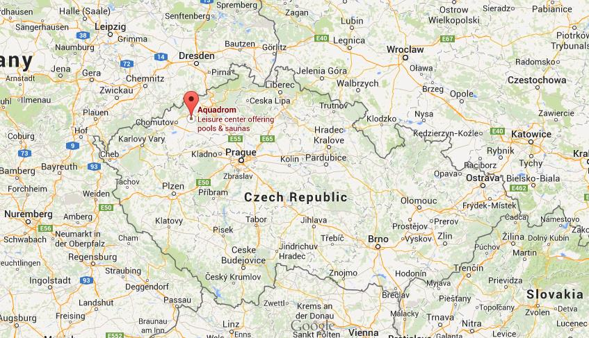 Where is Most map Czech Republic World Easy Guides