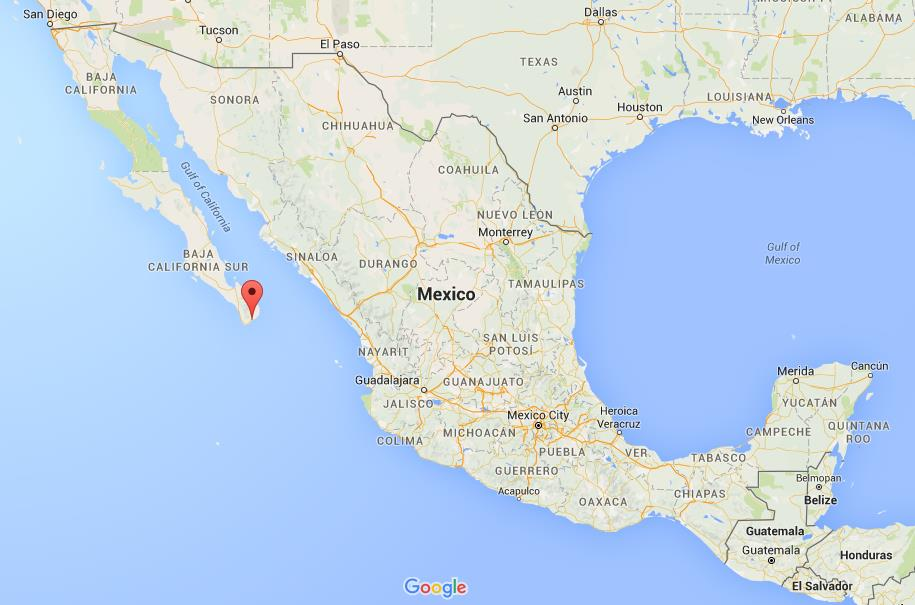 where is san jose del cabo on map mexico