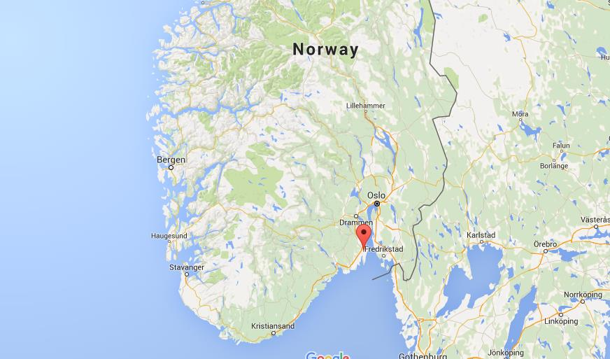 Where Is Tonsberg On Map Norway World Easy Guides - Norway map world