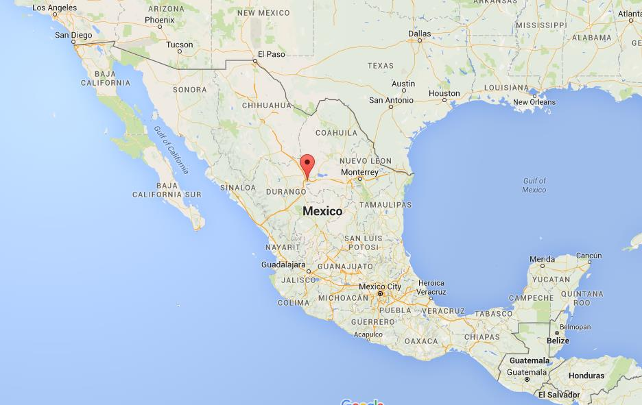 Where Is Torreon On Map Mexico