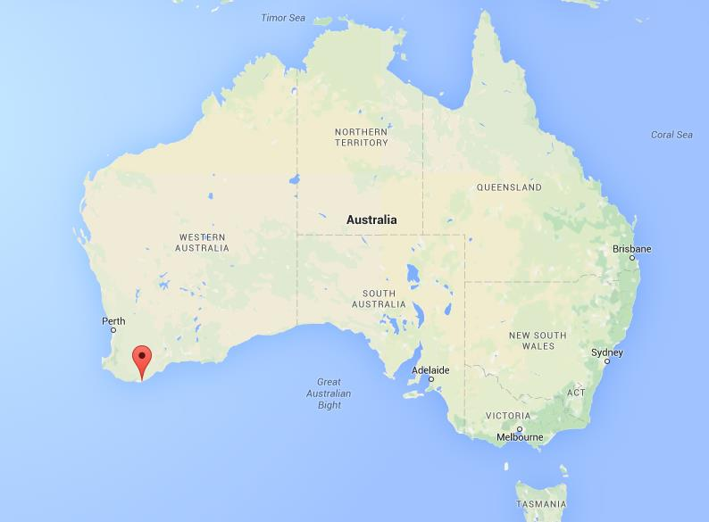 Where is Albany on map Australia – Location of Australia on World Map
