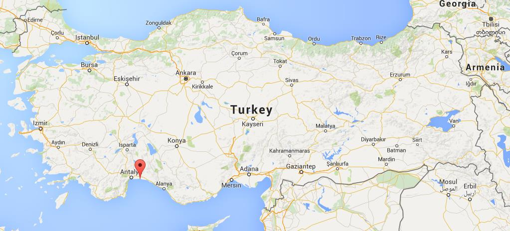 Where is Belek on map Turkey World Easy Guides