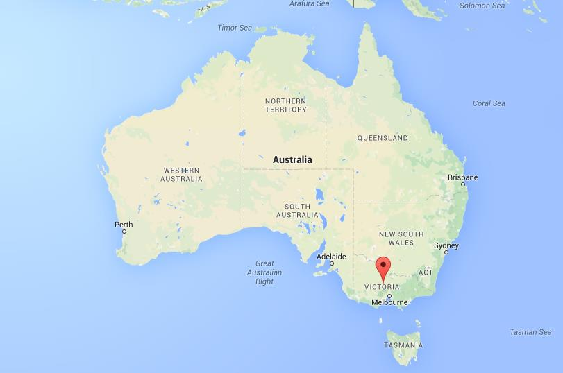 Where is Bendigo on map Australia World Easy Guides