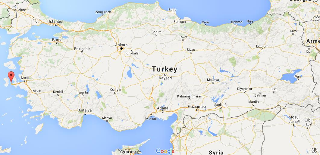 Where is Cesme on map Turkey World Easy Guides
