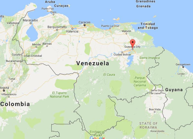 Where is Ciudad Guayana on map Venezuela World Easy Guides