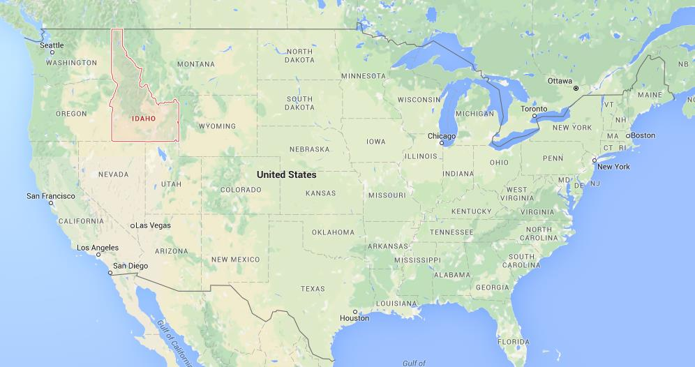 Where Is Idaho On Map Of USA World Easy Guides - Where is idaho