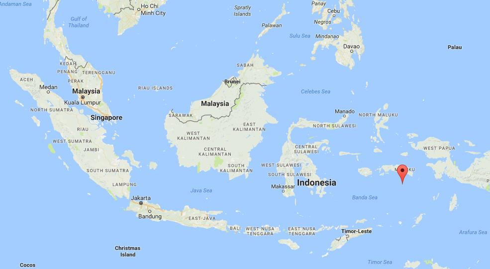 Where are banda islands on map indonesia world easy guides location banda islands on map indonesia gumiabroncs Gallery