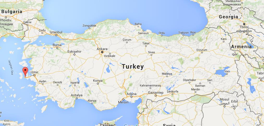 Where Is Ala 231 Ati On Map Turkey World Easy Guides