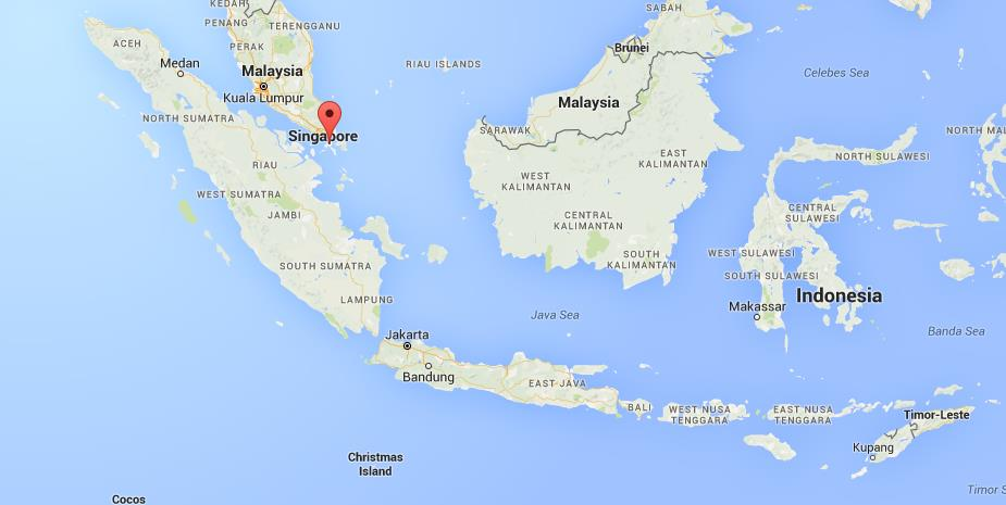Where is Batam on map Indonesia World Easy Guides