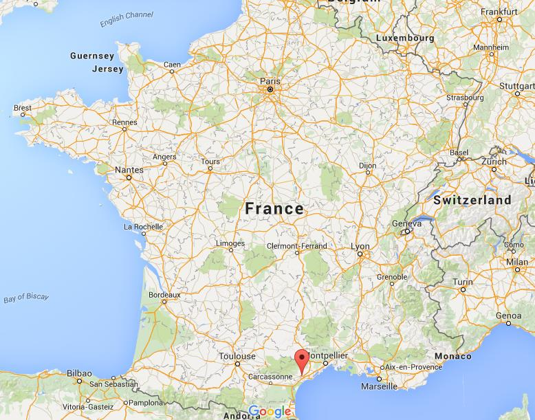 Where is Beziers on map France World Easy Guides