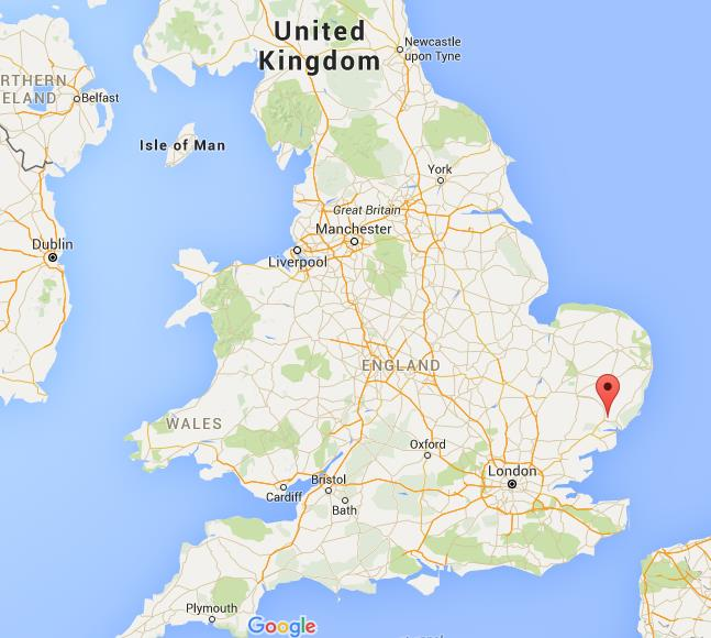 Ipswich Uk Map.Where Is Ipswich On Map England