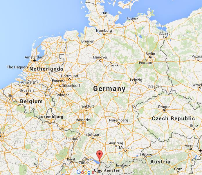 where is lindau on map germany