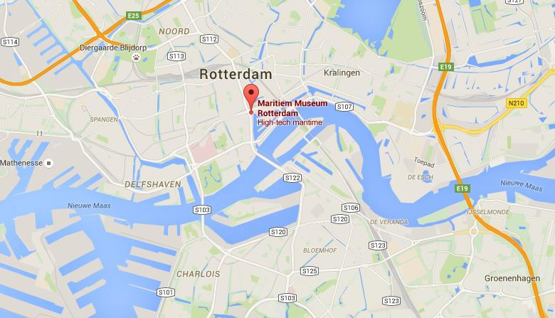Where is maritime museum on map rotterdam world easy guides location maritime museum on map rotterdam sciox Gallery